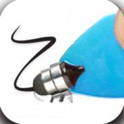 Stylus na dotykové displeje - App writer