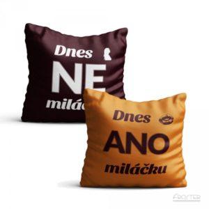 Povlak na polštář - ANO/NE