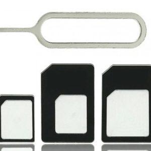 Adaptér SIM karet 4v1