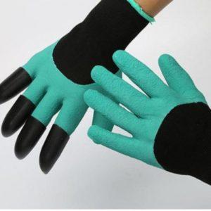 Zahradnické rukavice pro snadné hrabání