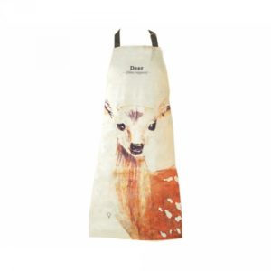 Kuchyňská zástěra s jelenem