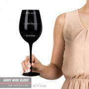 Slavnostní obří sklenice na víno - Who cares?