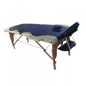 Dřevěný masážní stůl