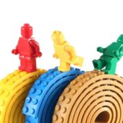 Nalepovací lego pásek