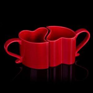 Zamilované hrnečky - červené