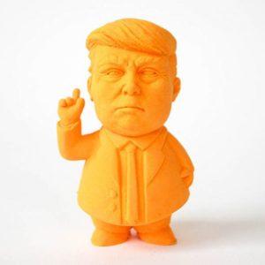 Vygumovaný prezident - Trump