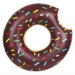 Nafukovací donut čokoládový