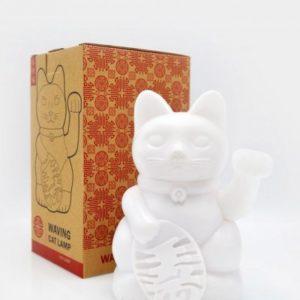 Stolní lampička: Maneki Neko - kočka štěstí