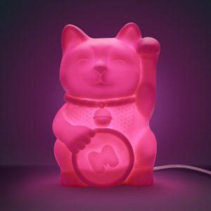 Stolní lampička: Maneki Neko - kočička štěstí