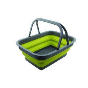 Skládací silikonový košík