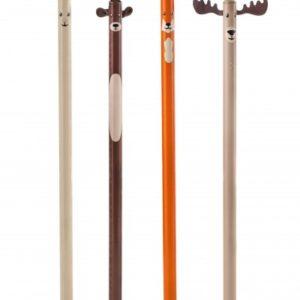 Set dřevěných tužek - zvířátka