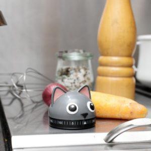Kuchyňská minutka - kočička