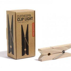 Lampička na knihu - kolíček