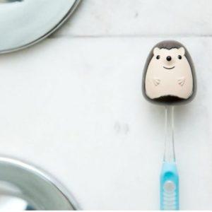 Držák na zubní kartáček - ježek