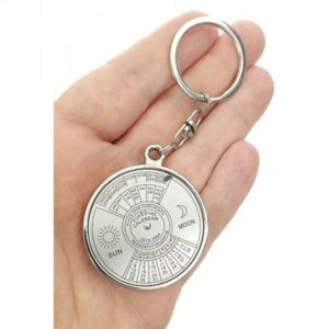 """Přívěsek na klíče ve tvaru """"50-TI LETÝ KALENDÁŘ"""""""