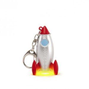 Mini vesmírná raketa - klíčenka