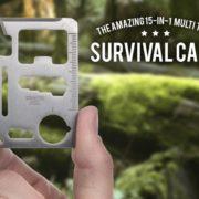 Karta přežití - stříbrná