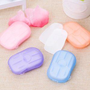 Cestovní papírové mýdlo