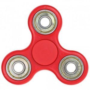 Fidget spinner červený